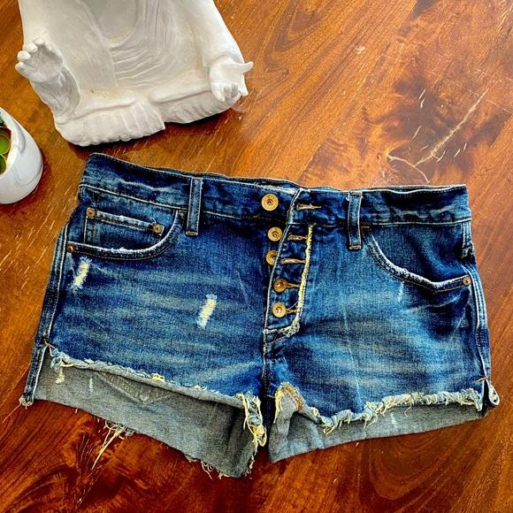 Free People Denim Cutoff Shorts